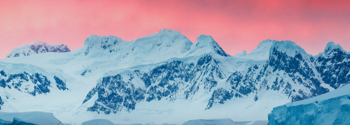 Antarctic Peninsula Sunset